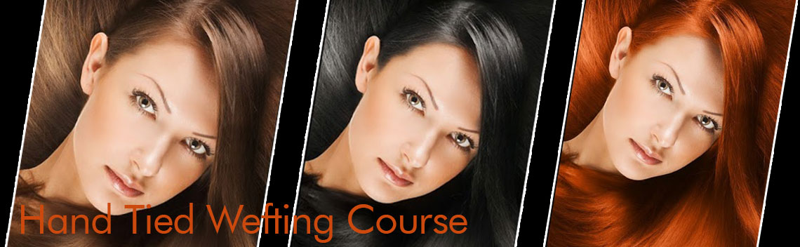 Hand Tied Wefting Course