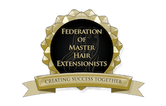 Federation of Master Hair Extensionists Logo